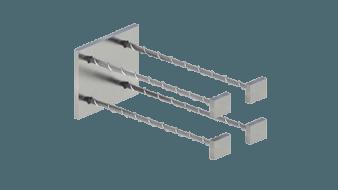 Закладные изделия МН 105-3 серия 1.400-15