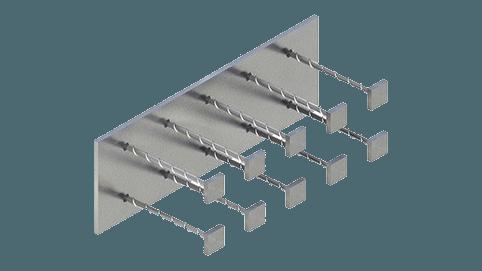 Закладные изделия МН 128-5 серия 1.400-15