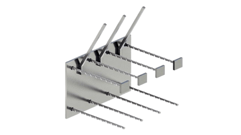 Закладные изделия МН 317-3 серия 1.400-15