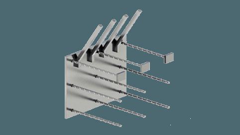 Закладные изделия МН 319-4 серия 1.400-15
