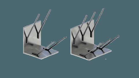 Закладные изделия МН 501 серия 1.400-15